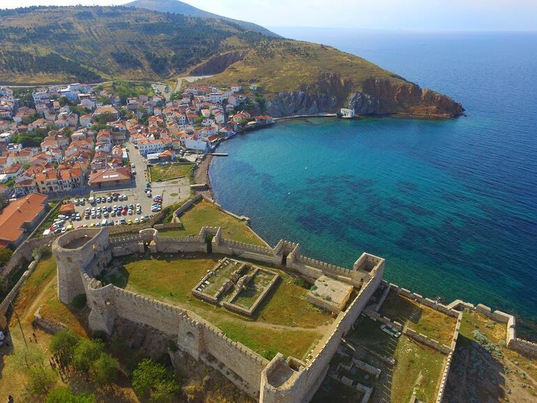 Turizm cenneti Bozcaadada konaklama tesisleri açıldı