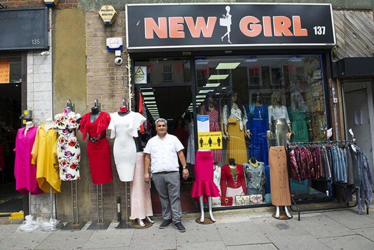 Londra'da 84 gün sonra mağazalar kapılarını açtı
