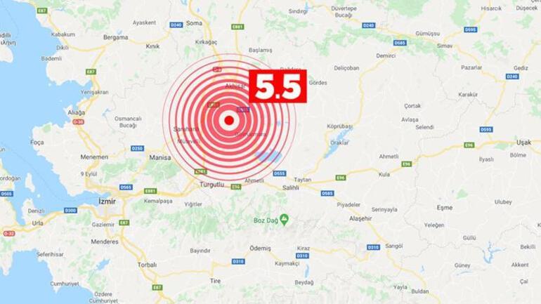 Son dakika haberi: Manisada korkutan deprem İzmir, Bursa ve çevre illerden de hissedilen depremde son durum