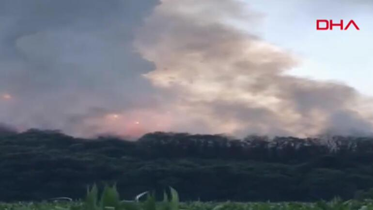 Son dakika haberler... Sakarya Hendekte havai fişek fabrikasında patlama