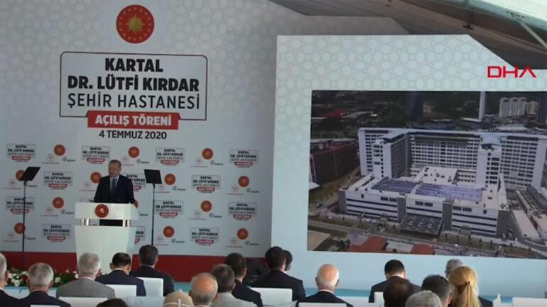 Son dakika haberler... Cumhurbaşkanı Erdoğan: Türkiyeyi 3 kıtanın sağlık merkezi yapmakta kararlıyız
