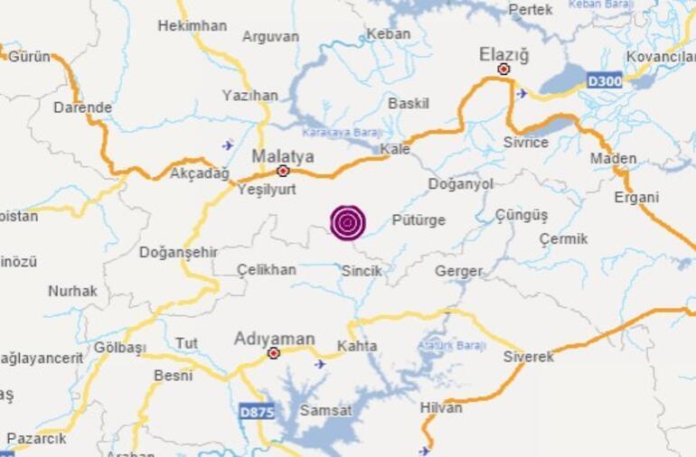 Son dakika haberi: Malatyada peş peşe depremler
