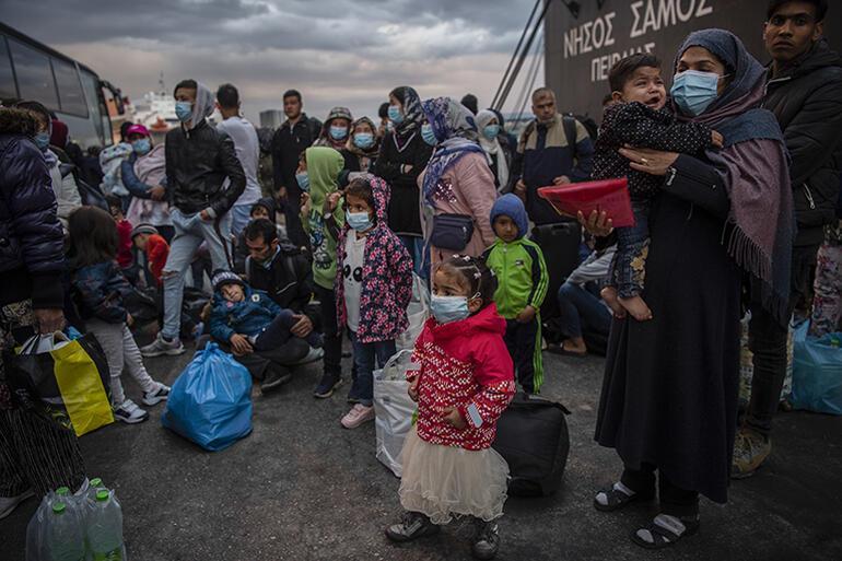 'Yunanistan'daki kamplarda durum felaket'