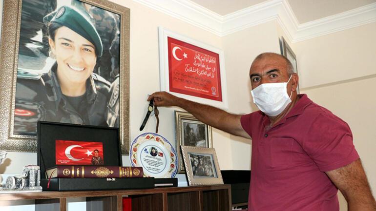 15 Temmuz şehidi Kübranın hatırası evinde yaşatılıyor