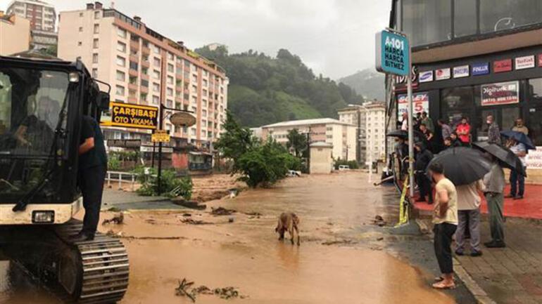 Rize'de sel felaketi Bakan Soylu: 1 kişi kayıp