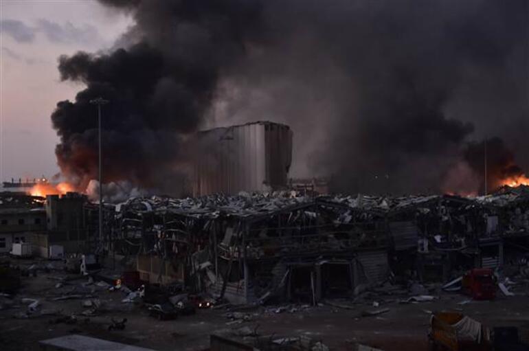 Son dakika haberi: Lübnanın başkenti Beyrutta büyük patlama 63 ölü, 3 binin üzerinde yaralı