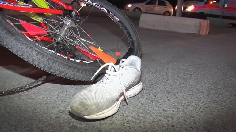 Bisikletli çocuğa otomobil çaptı: 2 si ağır 7 yaralı