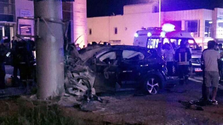 Dün otomobil aldı, gece arkadaşının aracıyla kaza yaptı