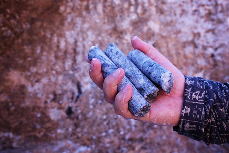 Antik Çağdan mermer ve traverten ocakları gün yüzüne çıkarılıyor