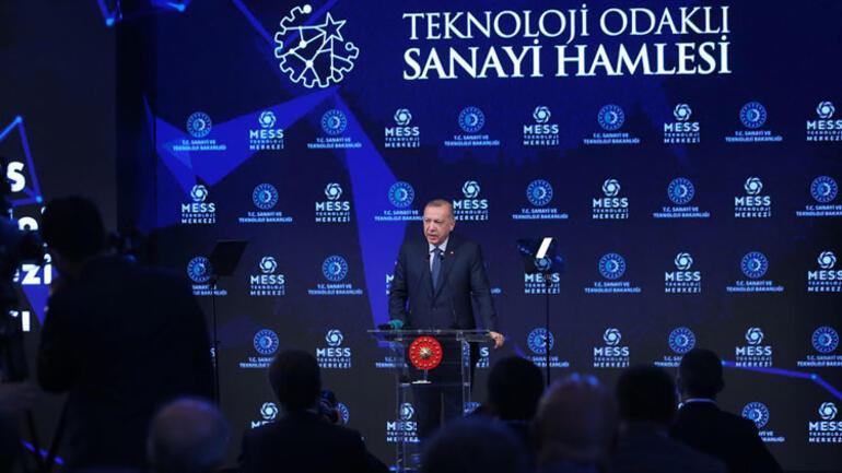 Son dakika haberler... İstanbulda müthiş tören... Cumhurbaşkanı Erdoğandan robotlu açılış
