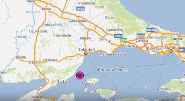 خبر عاجل: شعرت اسطنبول بزلزال في بحر مرمرة