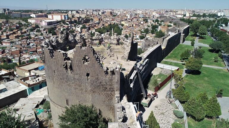 UNESCO mirası Diyarbakır Surlarında 500 günlük restorasyon başladı