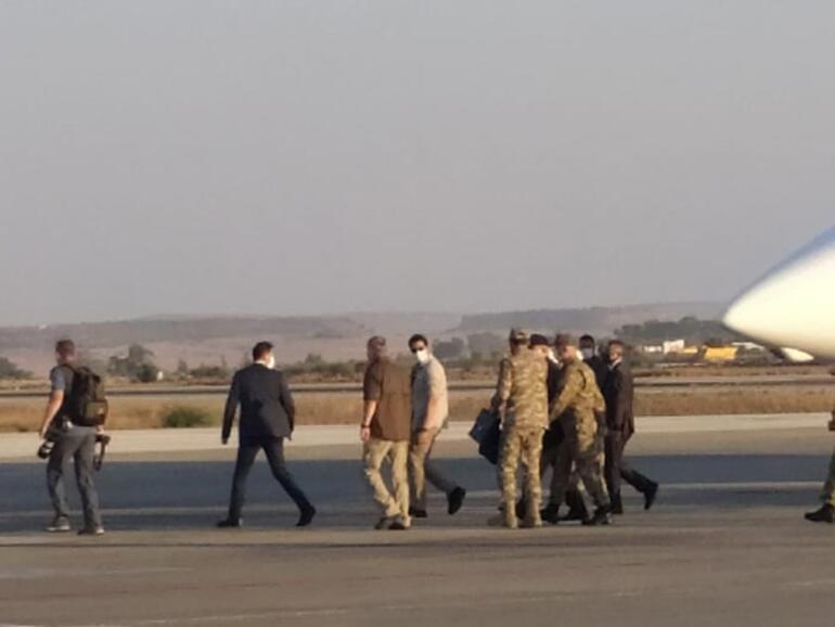 Son dakika haberi: Milli Savunma Bakanı Hulusi Akar ve TSK komuta kademesi KKTCde
