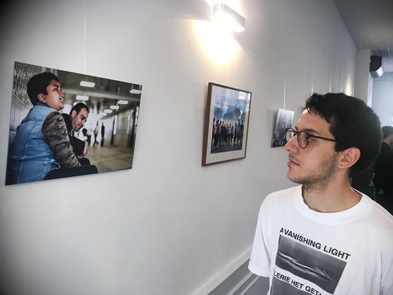 Hollandalı besteciden 'İstanbul Connected' resim sergisi