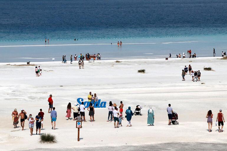Saldaya normalleşme sürecinde 600 bin ziyaretçi