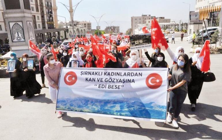 Şırnaklı kadınlar da HDP kapısına dayandı