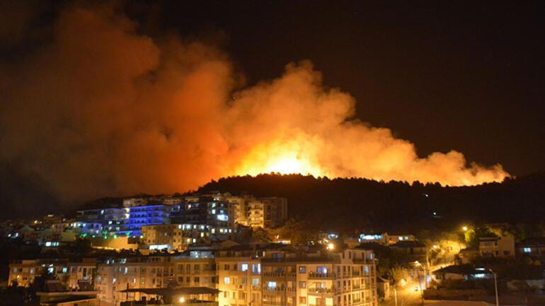 İzmirde korkutan yangın Kan donduran detay ortaya çıktı