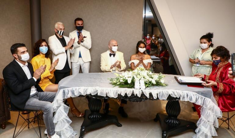 Soner Sarıkabadayı ve Madelein Lopez Camelo evlendi - Magazin Haberleri