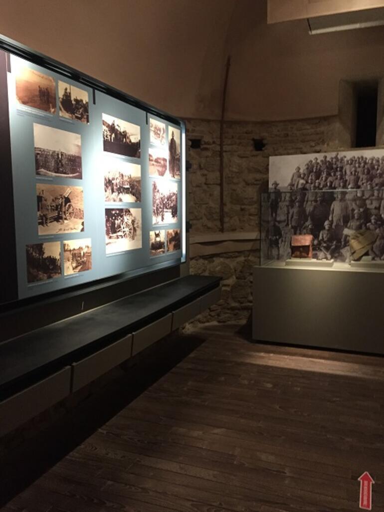 Çanakkale Savaşı'nın seyrini değiştiren Anadolu Hamidiye Tabyası