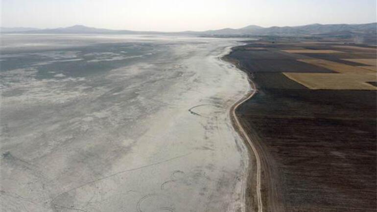 Kırşehirdeki kuş cenneti Seyfe Gölü kurudu
