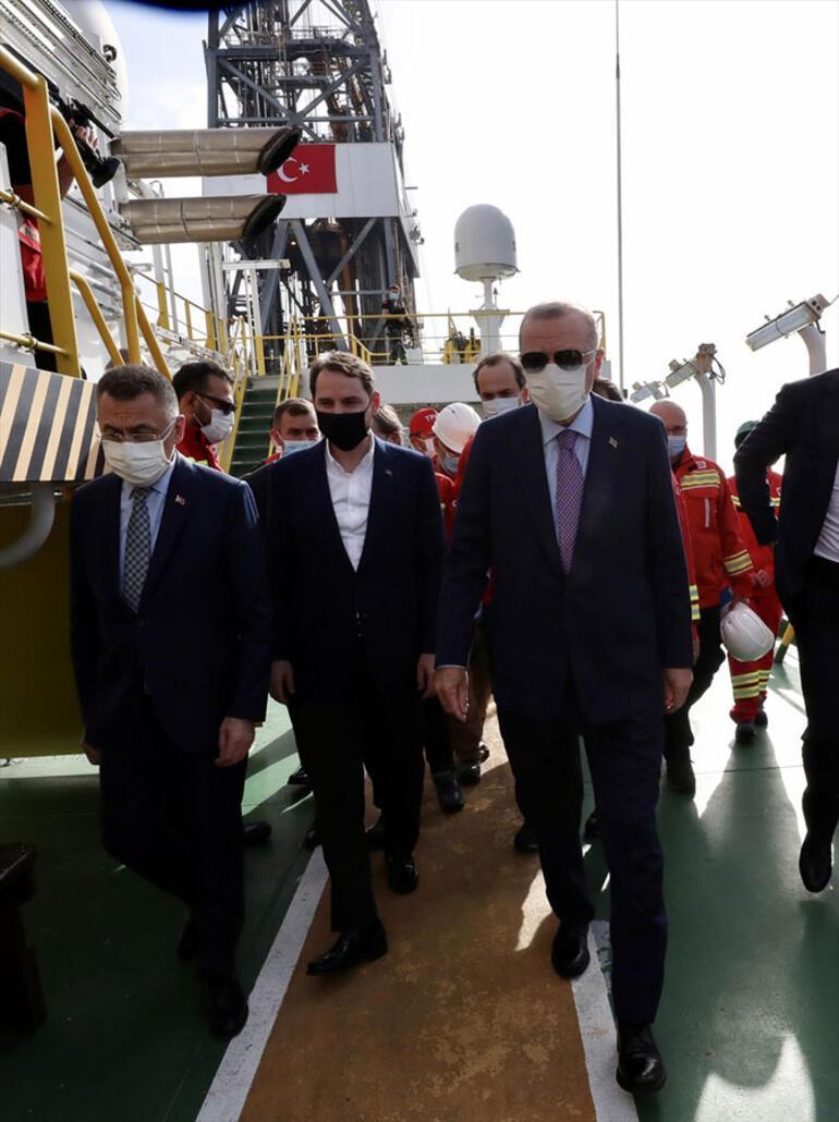 Son dakika haberler… Cumhurbaşkanı Erdoğan, Fatih sondaj gemisinde müjdeyi açıkladı