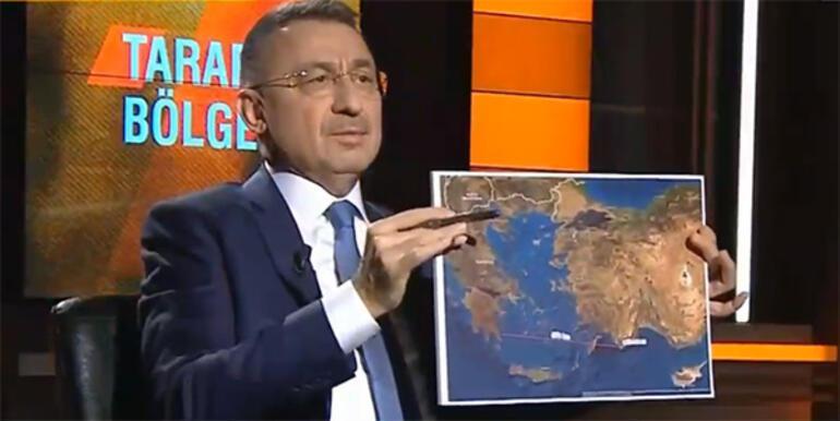 Son dakika haberler... Cumhurbaşkanı Yardımcısı Fuat Oktaydan önemli açıklamalar