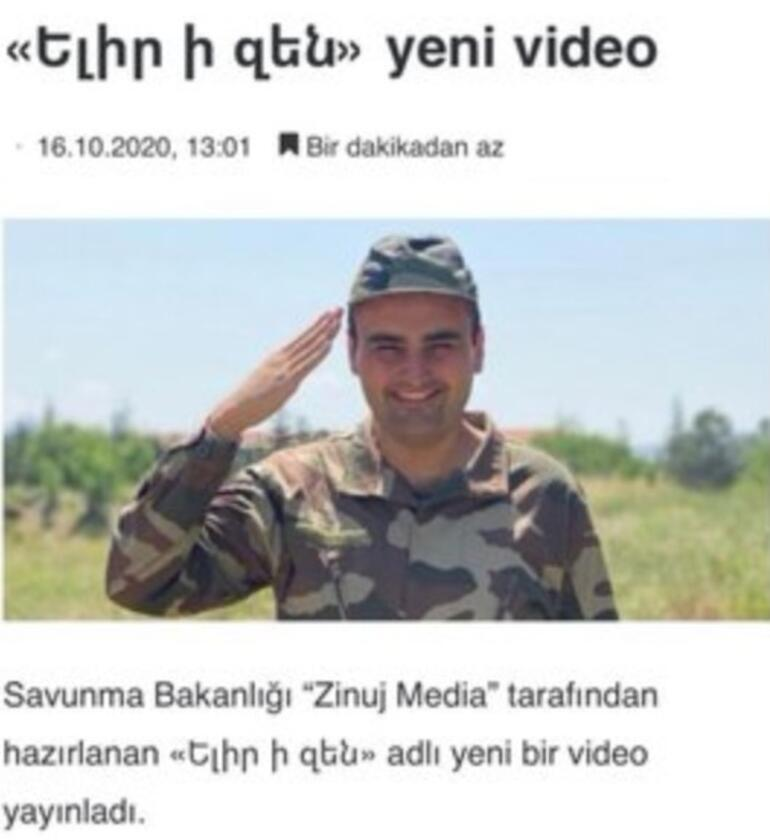 Ermenistandan bir skandal daha Şimdi de Tarkan'ı vurdular...