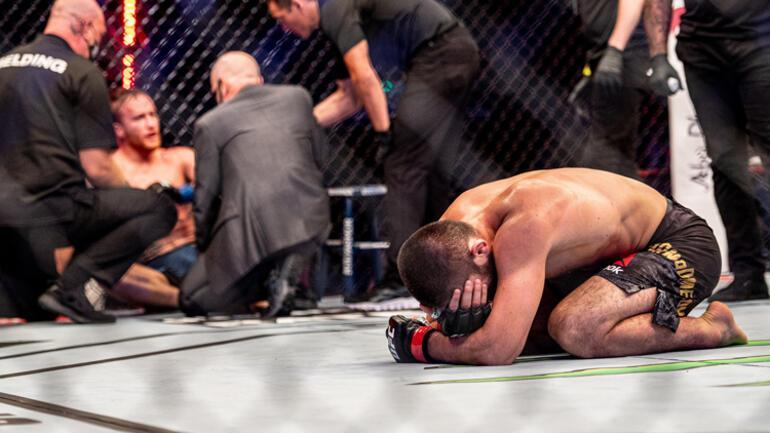Son Dakika Haberleri |  UFC Hafif Sıklet Şampiyonu Khabib Nurmagomedov zirveden ayrıldı