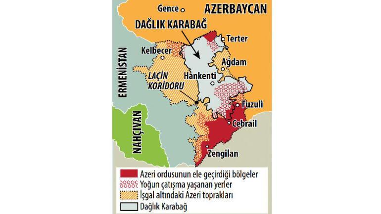 Ermenistan Karabağ karayolu düşmek üzere