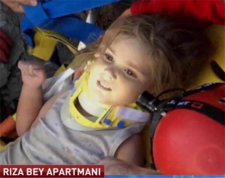 Son dakika... İzmirdeki depremde 91inci saatte Ayla mucizesi Enkaz altından çıkmamış kadar güzeldi
