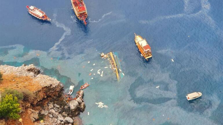 Son dakika... Alanyada tur teknesi alabora oldu... Acı haber geldi