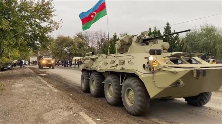 Son dakika... Azerbaycan ordusu Ağdama giriş yaptı