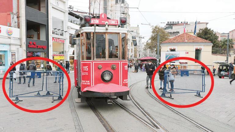 İstiklal Caddesi'ne 7 bin kişi sınırlaması: 3 metrekareye bir kişi düşecek