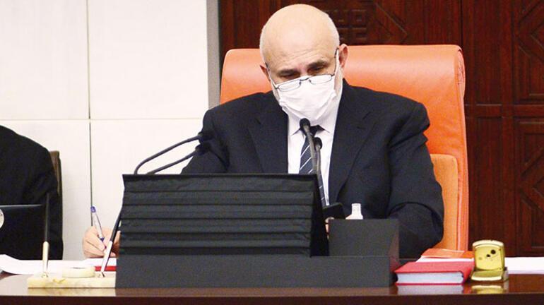 Milletvekillerinin maske ile imtihanı