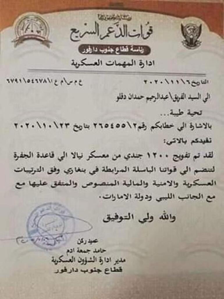Son dakika... Libyadaki gizli pazarlık ifşa oldu 1200 milis...