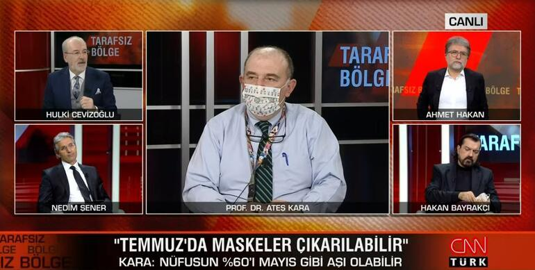 Son dakika... Bilim Kurulu Üyesi Prof. Dr. Ateş Kara maskesiz hayat için tarih verdi