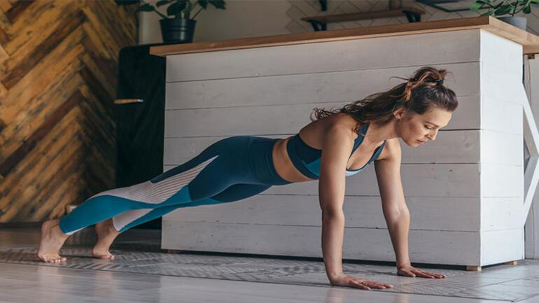 Plank egzersizi nedir Nasıl yapılır ve vücuda etkileri nelerdir