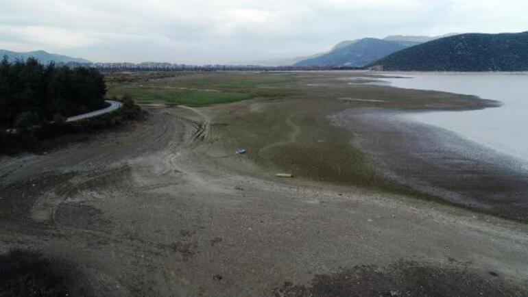 Gölbaşı Barajının yüzde 90ı kurudu