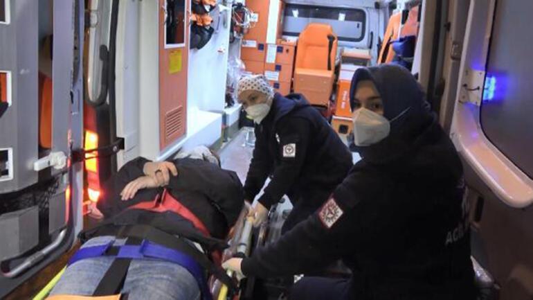 Dere yatağına düştü, ekipler kurtarmak için seferber oldu