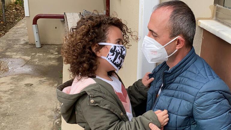 Son dakika... Türkiyeyi ağlatmıştı Minik Ecem sağlıkçı babasına kavuştu