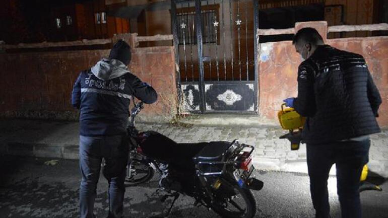Çaldığı motosikleti, yakıtı bitince bırakıp kaçtı