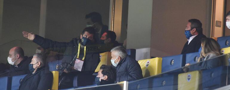 Fenerbahçe'de Emre Belosol sinirlenince Nass, Shankar'ın hedefini göremedi