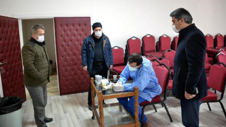 Zonguldakta esnafa koronavirüs testi