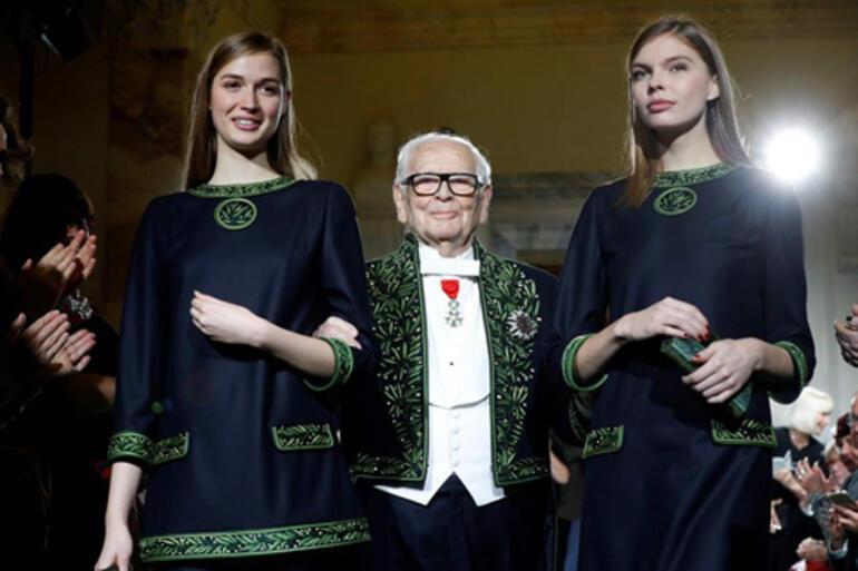 Moda dünyasına kara haber: Pierre Cardin hayata veda etti