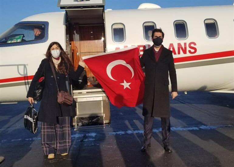Hurriyat duyurmuştu ... Profesör.  Dr.  İlhan Bağaş hava ambulansıyla Türkiye'ye götürüldü