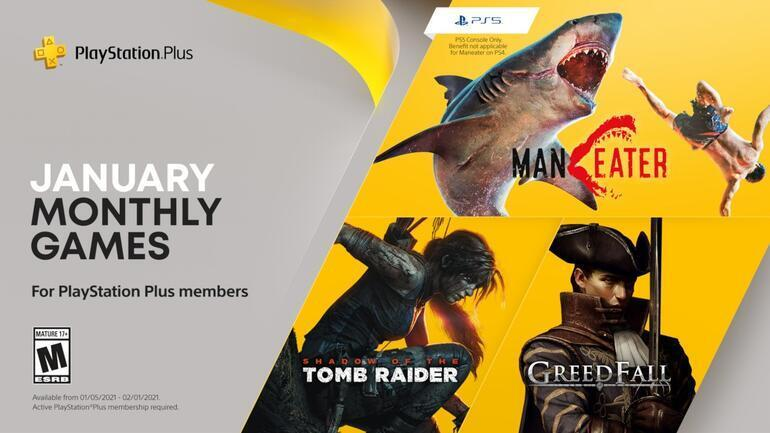 PlayStation Plusın Ocak ayı oyunları yayınlandı