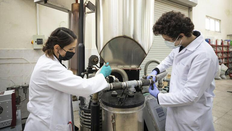 Electricity and gas production from waste sludge started