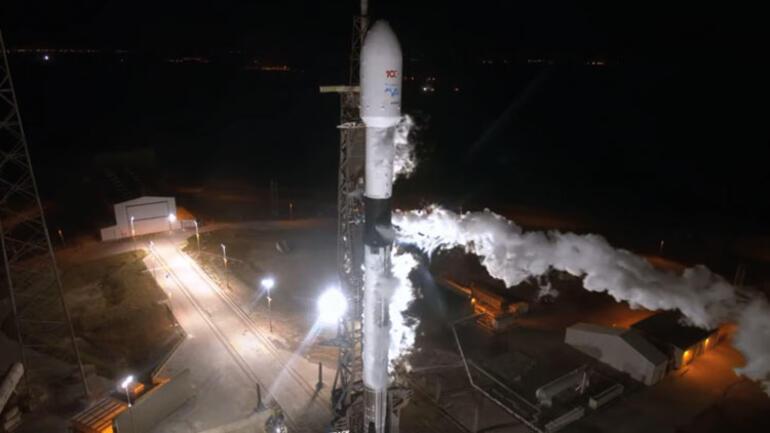 Türkiye için tarihi gün... Türksat 5A uydusu fırlatıldı