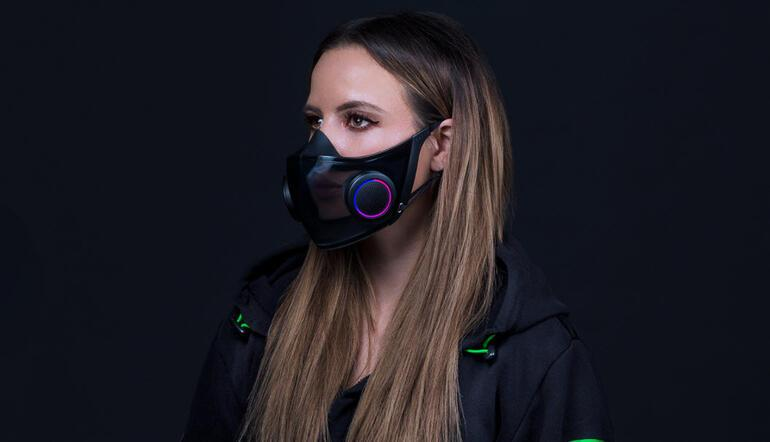 Razer has developed a smart mask this time