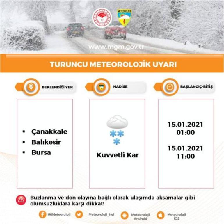 İstanbulda kar yağışı başladı Son yıllarda gördüğüm en güzel tahmin haritası deyip paylaştı...